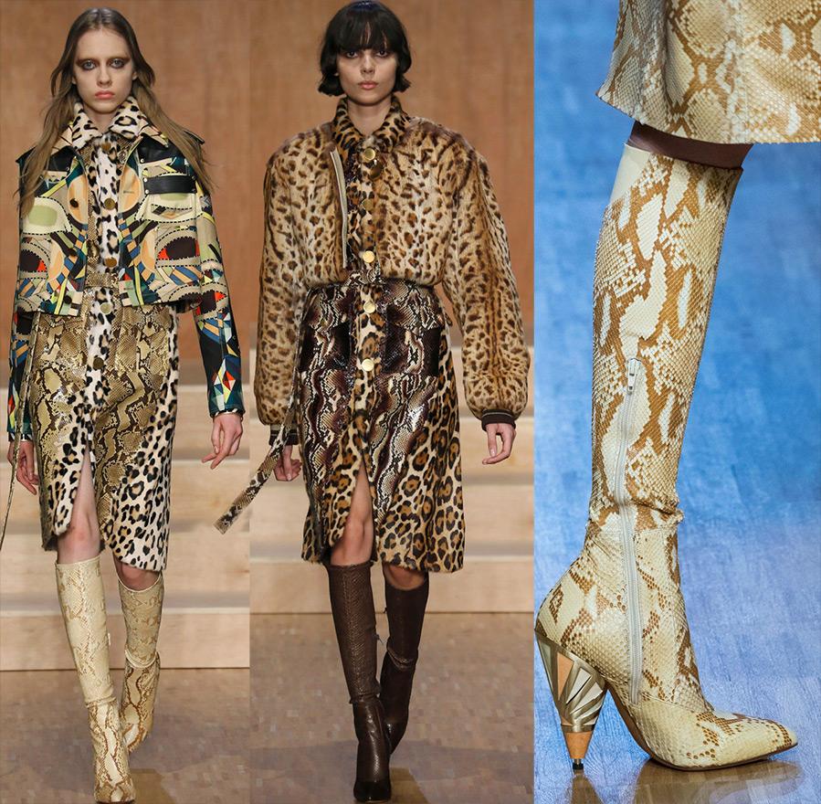 Эксцентричные леопардовые принты снова в моде!