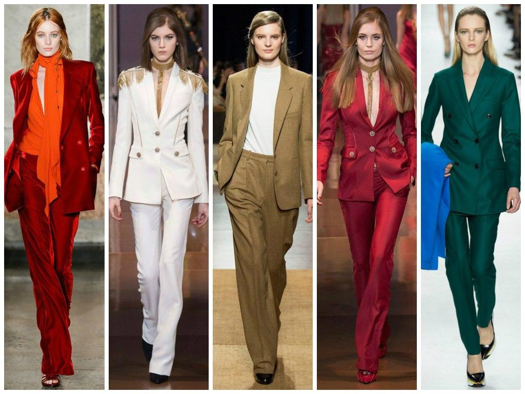 Классические женские костюмы – писк моды 2017